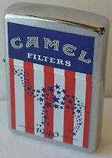 CAMEL ZIPPO Decade Series Flag Only 100 Made LIGHTER IN TIN RARE VINTAGE 2000