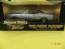 1969 Dodge Superbee Limited Edition 1:18 diecast car by Ertl