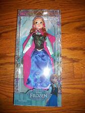 """DISNEY STORE Frozen Anna Doll 12"""""""
