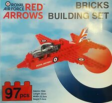 Red Arrows Building Bricks Set Royal Air Force