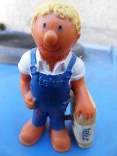 Ancienne figurine personnage publicitaire livreur les ciments francais TELUR