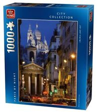 PARIS FRANCE BY NIGHT 1000 Piece City Collection Jigsaw Puzzle Toy 05371