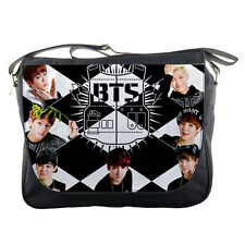 Bangtan Boys Kpop Messenger Bag Laptops Shoulder School Bags Textbook Concert