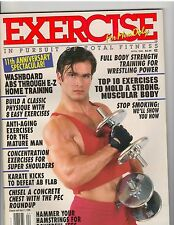 Exercise For Men Only Bodybuilding Muscle Physique Magazine 4-96