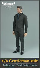 "VORTOYS 1/6 Scale Men's Gentleman suit Clothing Set Fit 12"" Male Figure Model"