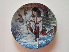 1989 Dominion China Mint Stewart Sherwood Skating Plate - Winning Ways NIB COA