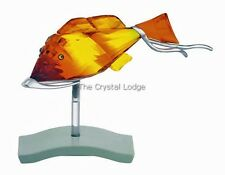 SWAROVSKI PARADISE FISH OBJECT CROTONE 626202 RETIRED MINT BOXED