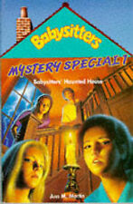 Mystery Special: Babysitters' Haunted House No. 1 (Babysitters Club Mysteries) -