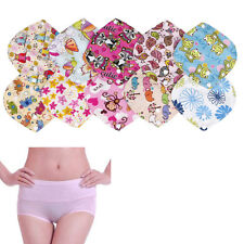 New 1 Pc Reusable Panty Liner Washable Menstrual Pads Mama Cloth Random Color
