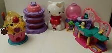 Squinkies Dispensers Doos Beauty Center Hello Kitty Cake cupcake gumball machine