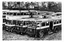 pt6931 - Chesterfield Trollybus Fleet withdrawn - photo 6x4