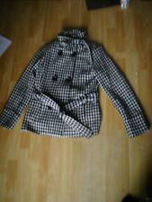 Womens Wool Herringbone Jacket/Coat. Size 10UK/38EU. Lined (Damaged),V Good Cond