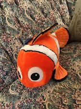 "NEW Disney Store Finding Nemo Plush Huge Toy 18"" Clown Fish Exclusive BIG #A5"