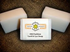 Homemade Soap Old Fashion LARD & LYE Handmade Soap  Sundance Soapery  Laundry