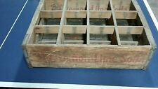 B-1 Lemon Lime Soda Pop Rare Vintage Quart Size Crate Box Wood