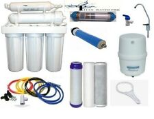 6 Stage RO - Reverse Osmosis Alkaline/Ionizer ORP Water Filter System 35 GPD