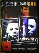 Halloween 4 & 5 (IV & V) (2 DVD) Double Feature im Pappschuber! - NEU&OVP (J8)