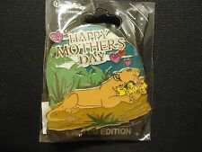 DISNEY WDI THE LION KING HAPPY MOTHER'S DAY 2016 PIN LE 250 ON CARD