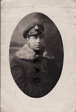 WW1 Soldier ASC Army Service Corps in heavy Duty Drivers coat Bulford Camp
