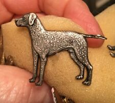 Vintage CHESAPEAKE BAY LABRADOR RETRIEVER DOG Gundog,Shooting fieldsports BROOCH