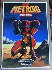 Nes 8 Bit Retro Metroid 2 Samus Game Print In A3 #retrogaming This A Poster