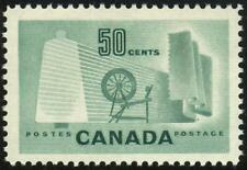 334 CANADA 50c Light Green CLOTH & SPINNING WHEEL Mint VLH SEE PHOTOS Lot H-368