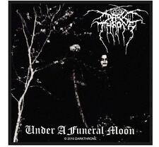 "DARKTHRONE PATCH / AUFNÄHER # 8 ""UNDER A FUNERAL MOON"""