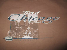 Taste Of CHICAGO (MED) T-Shirt KENNY ROGERS JOHN MAYER The BLACK CROWES CRACKER
