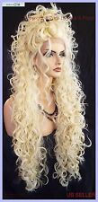 """30"""" X-LONG LACE FRONT DEEP C-PART HIGH HEAT SAFE WIG COLOR 613  SEXY 1120 NEW"""