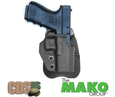 MAKO FRONTLINE MOLDED POLYMER PADDLE HOLSTER  WALTHER PPX, P99 S&W 99 J67P BLACK