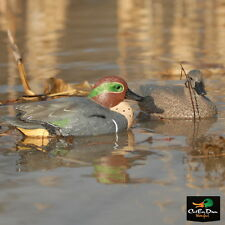 AVERY GREENHEAD GEAR GHG LIFESIZE GREEN-WINGED TEAL DUCK DECOYS WEIGHTED KEELS