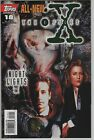 THE X-FILES #18 TV SHOW SERIES TOPPS COMIC BOOK FOX MULDER DANA SCULLY