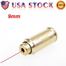 9mm Red Dot Laser Boresighter Bore Sight Caliber Cartridge Bass for Hunting