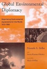 Mostafa Tolba - Global Environmental Diplomacy (1998) - Used - Trade Cloth