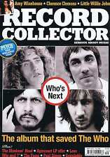 THE WHO / AMY WINEHOUSE / CLARENCE CLEMONS Record Collector no. 392 Sep 2011