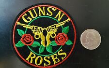 """Guns and Roses Logo PATCH embroidered iron on patch 3"""" x  3"""""""