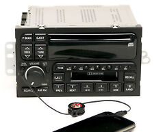 Buick LeSabre Century Regal 1996-03 Radio AM FM CD Cassette w Aux Input 09373354