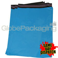 """200 x Baby Blue STRONG Postal Mailing Bags - 8.5"""" x 13"""""""
