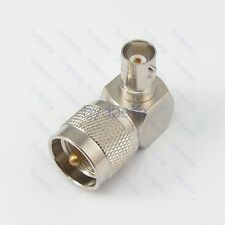 L Shape Type UHF male PL259 PL-259 to BNC female right angle 90 degree Adapter