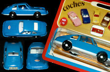 PORSCHE 911 T COUPÉ | COMANSI PLASTIK MODELLAUTO 10,5 CM OVP BLISTER FRÜHE 70er