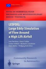 Lesfoil - Large Eddy Simulation of Flow Around a High Lift Airfoil : Results...
