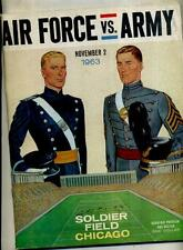 1963 AIR FORCE ARMY FOOTBALL PROGRAM SOLDIER FIELD