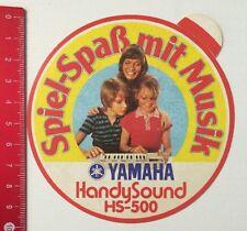 Aufkleber/Sticker: Yamaha HandySound HS-500 - Spiel-Spaß Mit Musik (03051638)