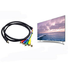 HDMI Male to 3 RCA AV Audio Video 5FT Cable Cord Adapter for TV HDTV DVD 1080p