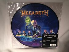 LP MEGADETH Rust In Peace (PICTURE DISC) 2014 NEW MINT SEALED