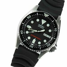 Seiko Automatic Day Date Diver 200m Rubber Gents Watch SKX013K SKX013K1 SKX013