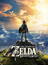 THE LEGEND OF ZELDA: BREATH OF THE WILD Poster (A3: 29 x 39 cm)