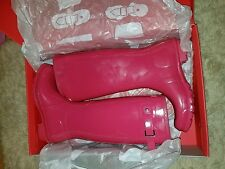 Hunter rain boots sz 10 Pink!!!