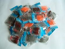 500 NEW Soft Plastic Worm Fishing Lures Bait Lot 3""