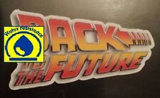 Back to the future logo water resistant Sticker tablet laptop guitar 018